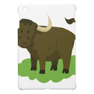 cow in the grass iPad mini cover
