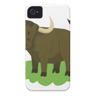 cow in the grass iPhone 4 Case-Mate case