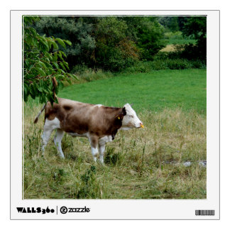 Cow In The Pasture Wall Decal