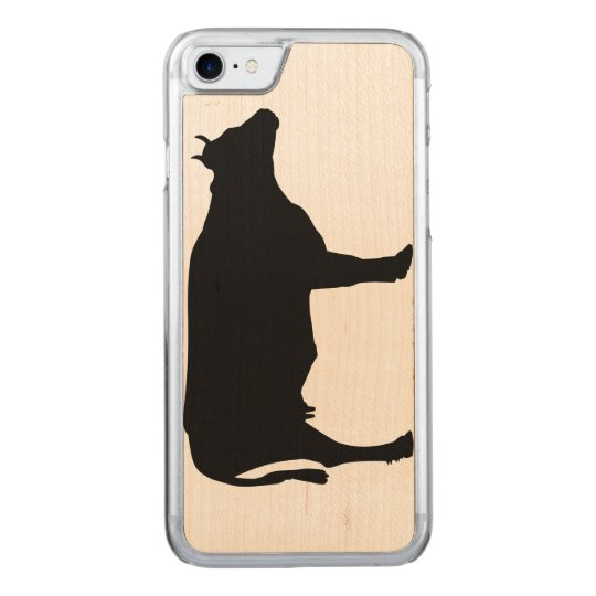 Cow iPhone Carved iPhone 8/7 Case