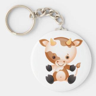 Cow Keychain