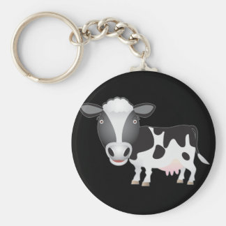 Cow Lover Keychain