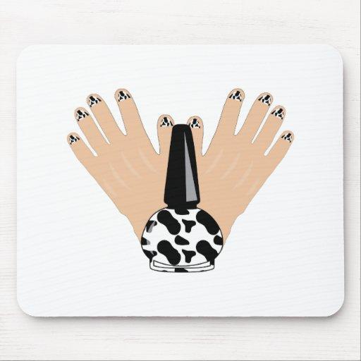 Cow Manicure Mousepad