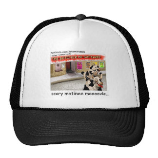 Cow Matinee Scary Moovie Funny Tees & Gifts Trucker Hat