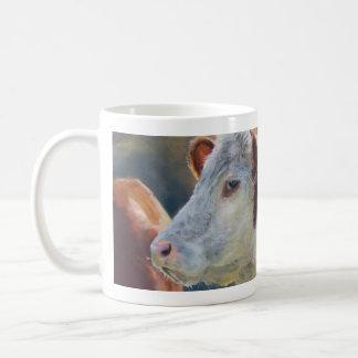 Cow Mug saying Moove it along