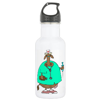 Cow Nurse Water Bottle