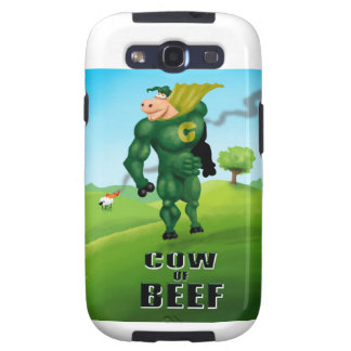 COW of BEEF! Samsung Galaxy S3 Case