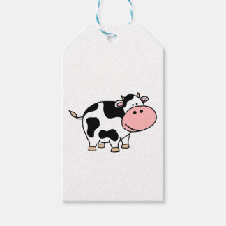 Cow Pack Of Gift Tags