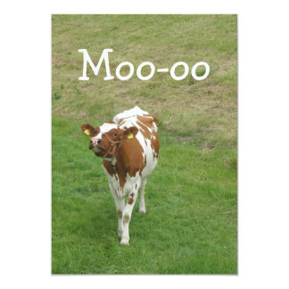 Cow Party Invitations