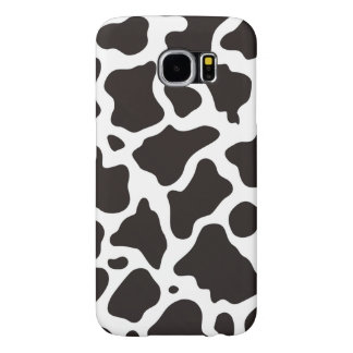 Cow pattern background samsung galaxy s6 cases