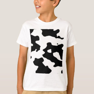Cow Pattern Black and White T Shirts
