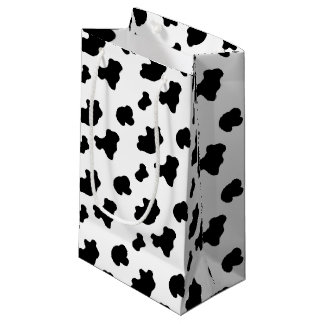 Cow pattern small gift bag