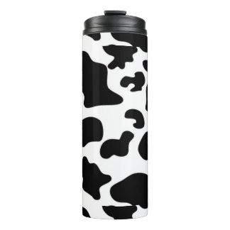 Cow Pattern Thermal Tumbler
