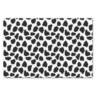 Cow pattern tissue paper