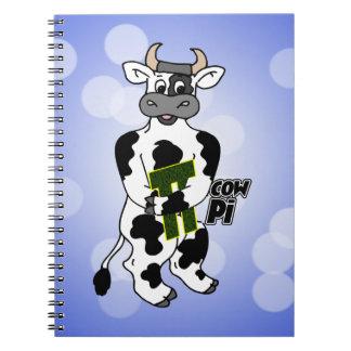 COW Pi 3.14  CELEBRATE Pi DAY Note Book