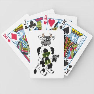 COW Pi 3.14  CELEBRATE Pi DAY Poker Deck