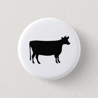 'Cow' Pictogram Button