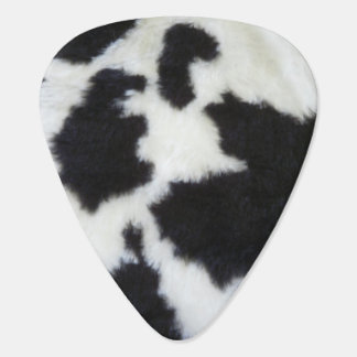 Cow Print Guitar Pick