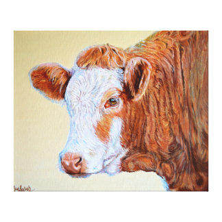Cow Print Hereford Cow