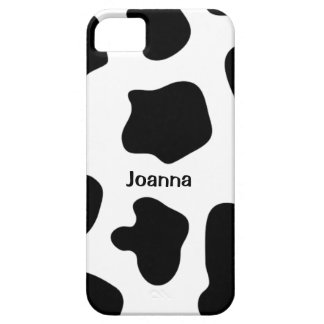 Cow print iPhone 5 case | Personalized name