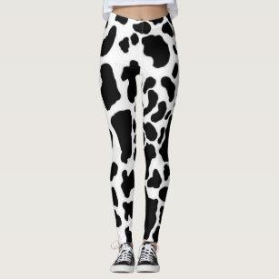 8d632717c23b6d Women's Cow Print Leggings & Tights   Zazzle CA