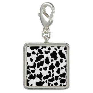 Cow Print Photo Charms