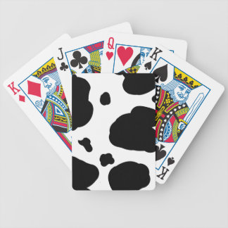 Cow Print Playing Cards