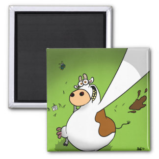 Cow Profile Pic Magnet
