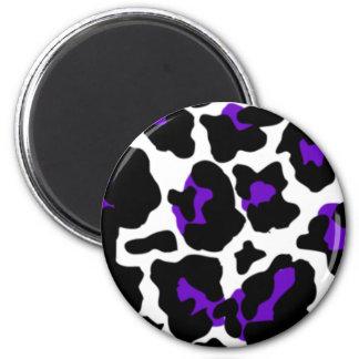 cow purple magnet