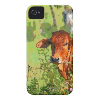 COW QUEENSLAND AUSTRALIA ART iPhone 4 Case-Mate CASE