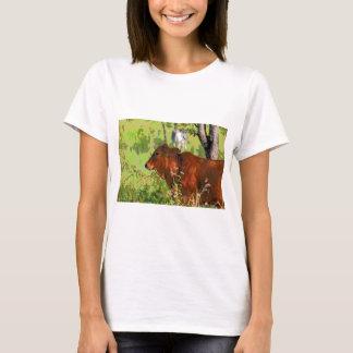 COW QUEENSLAND AUSTRALIA ART T-Shirt