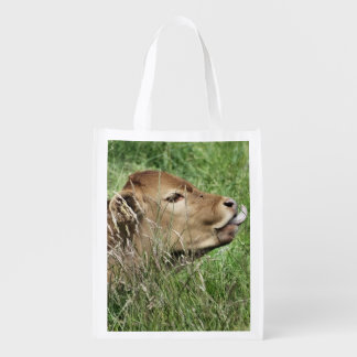 COW REUSABLE GROCERY BAG