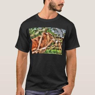 COW RURAL QUEENSLAND AUSTRALIA ART EFFECTS T-Shirt