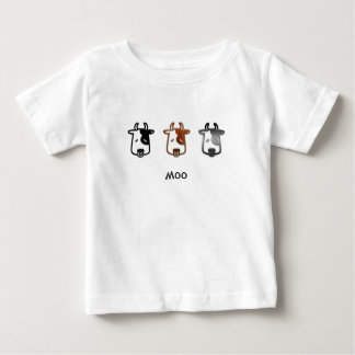Cow says moo baby T-Shirt