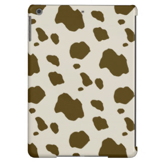COW SKIN Brown Spots Case For iPad Air