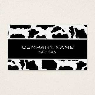 Cow skin Business Cards
