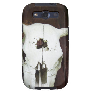 Cow Skull Galaxy SIII Covers
