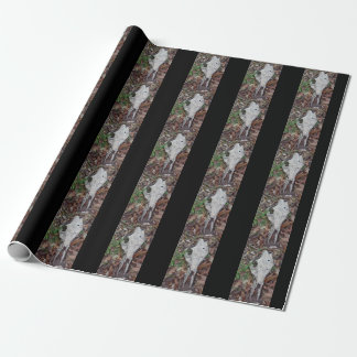 "Cow Skull Matte 30"" x 6"" Wrapping Paper"