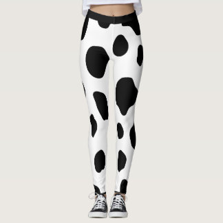 Cow spots pattern Leggings