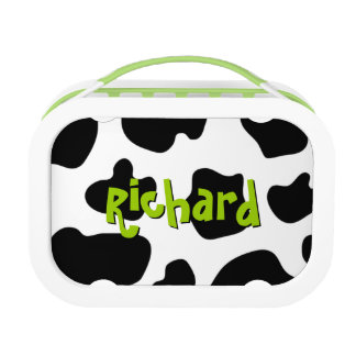 Cow spots pattern lunchbox | Cute animal print