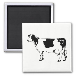 Cow Square Magnet