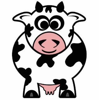 Cow Standing Photo Sculpture