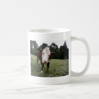 Cow Sticking Out Tongue Coffee Mug