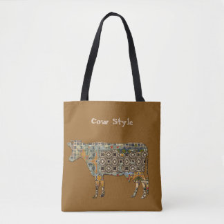 Cow Style Tote Bag