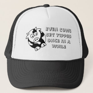Cow Tip Trucker Hat