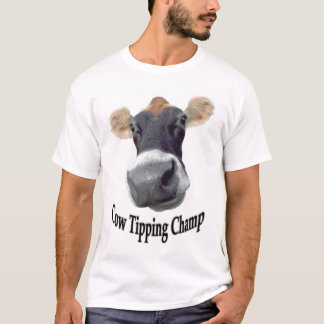 Cow Tipping Champ T-Shirt