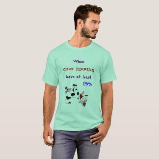 Cow Tipping Etiquette T-Shirt