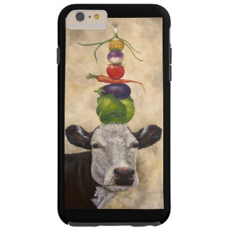 Cow with veggies iPhone6plus tough case