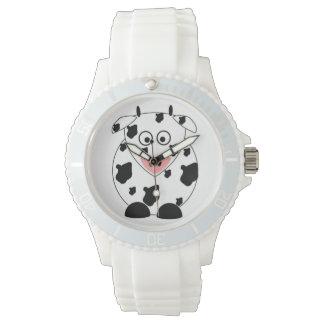 Cow Womens Silicon Sport Wristwatch