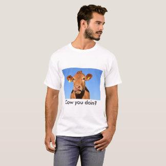 Cow you doin tee shirt